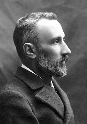 Pierre Curie portrait profil