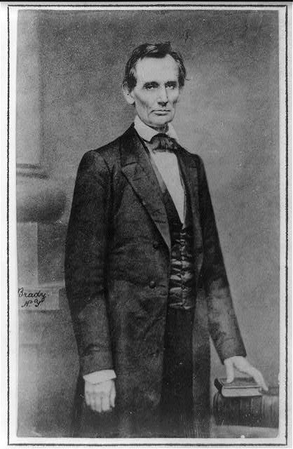 A. Lincoln en février 1860