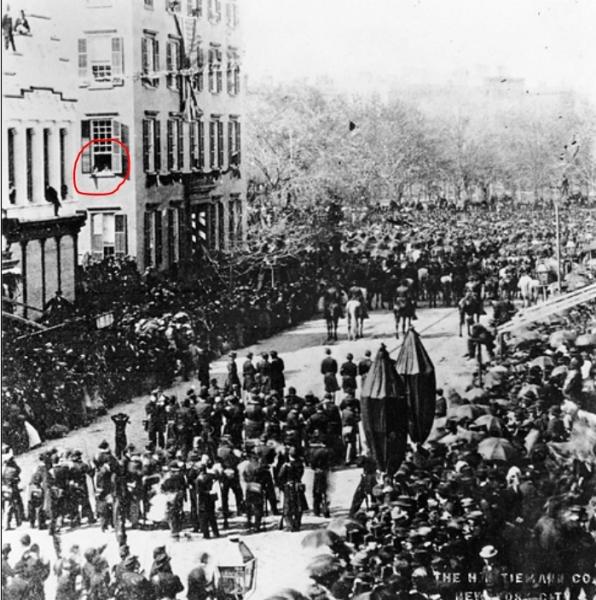 Funérailles du Abram Lincoln