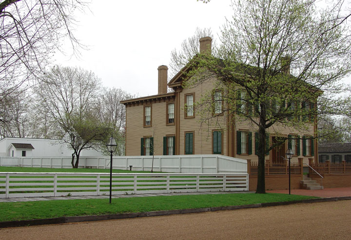 A. Lincoln Springfield home