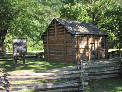 Knob Creek, Kentucky, Boyhood