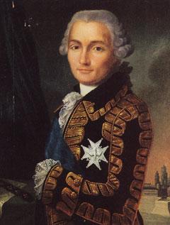 Jean-Baptiste de Vimeur comte de ROCHAMBEAU (1725 - 1807)